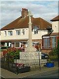 SK7431 : War memorial, Harby by Alan Murray-Rust