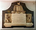 SD3439 : Memorial to Richard Buck by Gerald England