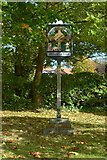 SK7431 : Harby village sign by Alan Murray-Rust
