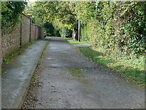 SK7431 : Gas Walk, Harby by Alan Murray-Rust