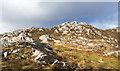 NR4259 : Summit area of Glas Bheinn by Trevor Littlewood