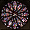 TQ1874 : St Matthias, Richmond - Stained glass window by John Salmon