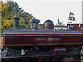 SP7500 : London Transport Steam Locomotive at Station, Chinnor, Oxfordshire by Christine Matthews