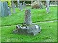 SK8632 : Medieval cross, Denton churchyard by Alan Murray-Rust