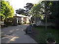 TL8161 : Porter's Lodge at the entrance to Ickworth House by Adrian Cable