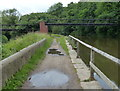 SD5407 : Pipebridge across the Leeds and Liverpool Canal by Mat Fascione
