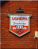 SU1480 : Brown Jack (4) - brewery sign, 1 Priors Hill, Wroughton by P L Chadwick