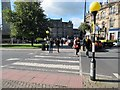 SE3055 : Zebra Crossing, Cambridge Road by Peter Holmes