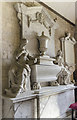 TF0039 : Monument to Sir Michael Newton, St Michael and All Angels, Heydour by Julian P Guffogg