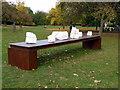 TQ2882 : Frieze Sculpture Park 2016, The Regent's Park by PAUL FARMER