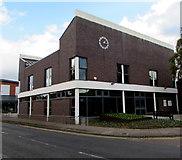 SJ6552 : West side of Nantwich Library by Jaggery