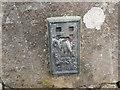 NS9038 : Ordnance Survey Flush Bracket G457 by Peter Wood