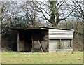TQ7818 : Horse shelter by Patrick Roper