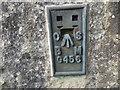 NS8838 : Ordnance Survey Flush Bracket G456 by Peter Wood