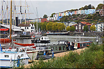 ST5772 : Cross Harbour Ferry, Bristol by Anthony O'Neil