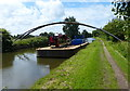 SD4610 : Pipebridge across the Leeds and Liverpool Canal by Mat Fascione