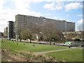 TQ3277 : High-rise Bradenham and low-rise Chartridge, Aylesbury Estate, Walworth, London by Robin Stott