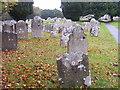 SZ1592 : Priory Churchyard by Gordon Griffiths