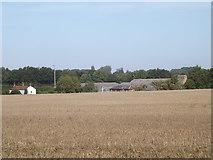 TG0723 : Brick Kiln Farm & Brick Kiln Cottages by Adrian Cable