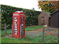 SJ7061 : Telephone box and exchange, Warmingham by JThomas