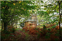 NS2209 : Approaching the Powder House, Culzean by Billy McCrorie