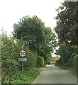 TG1115 : Entering Weston Longville on Church Street by Adrian Cable