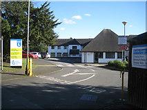 SP3065 : Guide Dogs for the Blind, Edmondscote Manor, Warwick New Road, Leamington by Robin Stott
