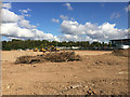 SP3165 : Work begins on the remainder of the Ford's Foundry site, Old Warwick Road, Leamington by Robin Stott