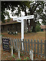 TL9121 : Signpost on Easthorpe Road by Adrian Cable