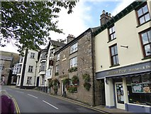 SD6592 : The White Hart and the Red Lion inns, Sedbergh by David Smith