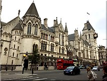 TQ3181 : Royal Courts of Justice by Alan Hughes