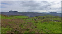 SH6130 : Looking south-east from the path to the Harlech Circle by Hansjoerg Lipp