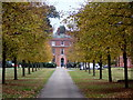 SU9671 : Windsor Great Park: approaching Cumberland Lodge by Chris Downer