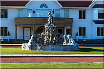 NS2005 : Fountain, Trump Turnberry Clubhouse by Billy McCrorie