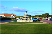 NS2006 : Fountain, Trump Turnberry Clubhouse by Billy McCrorie