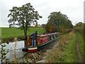 SJ8864 : Narrowboat on the Macclesfield Canal by Graham Hogg