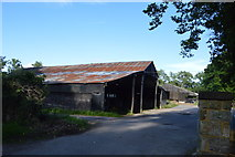 TQ3226 : Barn, Naldred Farm by N Chadwick