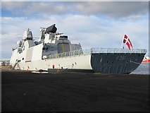 NT2677 : 'HDMS Iver Huitfeldt' - F361 by M J Richardson