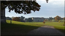 SO8845 : The visitor entrance to Croome Court by Philip Halling