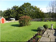 NY6820 : Garden of the Hospital of St Anne, Appleby by David Smith