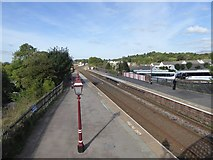 NY6820 : Appleby railway station by David Smith