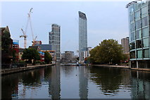 TQ3283 : City Road Basin by Chris Heaton