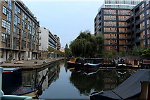 TQ3283 : Wenlock Basin by Chris Heaton