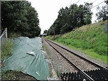 TQ5487 : Romford to Upminster line facing towards Upminster by Phil Gaskin