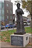 TQ3581 : Statue of Catherine Booth by David Dixon