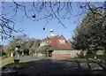 SJ8846 : Hanley Park: pavilion by Jonathan Hutchins