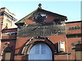 SJ8746 : Hanley: former battalion headquarters, North Staffordshire Regiment (detail) by Jonathan Hutchins