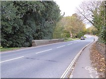 SX9390 : A3015 (Topsham Road) bridge over Northbrook, Exeter by David Smith