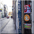 J3474 : Stickers, Belfast by Rossographer