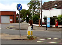 SO8317 : Stroud Road pillarbox and BT phonebox, Gloucester by Jaggery